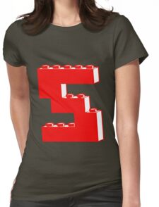 THE LETTER S by Customize My Minifig Womens Fitted T-Shirt