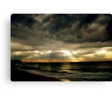 Merewether/Bar Beach Canvas Print