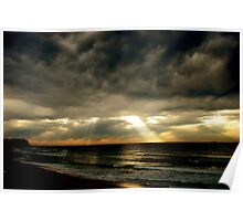 Merewether/Bar Beach Poster