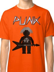 Punk Guitarist Minifig by Customize My Minifig Classic T-Shirt