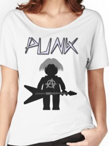 Punk Guitarist Minifig by Customize My Minifig Women's Relaxed Fit T-Shirt