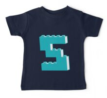 THE LETTER S by Customize My Minifig Baby Tee