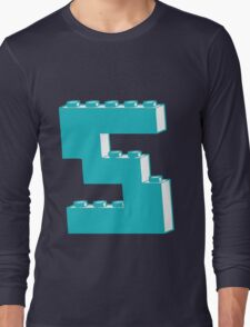 THE LETTER S by Customize My Minifig Long Sleeve T-Shirt