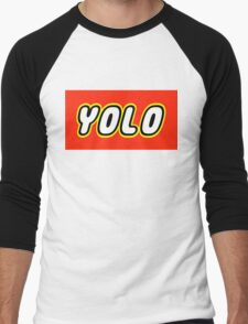 YOLO Men's Baseball ¾ T-Shirt