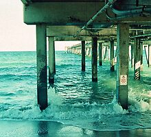 Dania Pier by Bill Wetmore