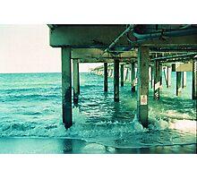 Dania Pier Photographic Print