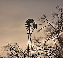 Winnemucca windmill 11/20/14 by DonActon
