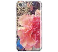 Peach Pink Flower iPhone Case/Skin