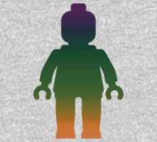 Minifig [Large Rainbow 3] Kids Clothes