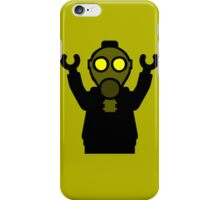 Apocalyse Minifigure wearing Gasmask iPhone Case/Skin