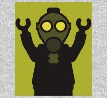 Apocalyse Minifigure wearing Gasmask Kids Clothes