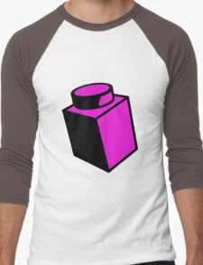 1 x 1 Brick Men's Baseball ¾ T-Shirt