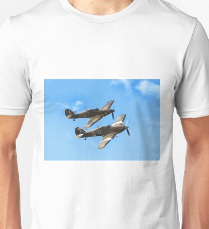 Double the Trouble - Hawker Hurricane Unisex T-Shirt