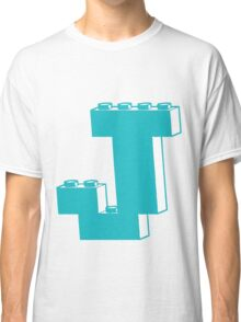THE LETTER J by Customize My Minifig Classic T-Shirt