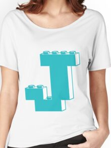 THE LETTER J by Customize My Minifig Women's Relaxed Fit T-Shirt