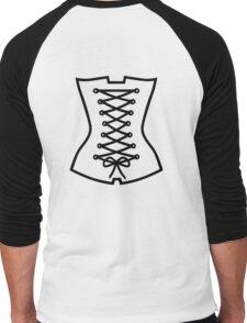 Corsage Men's Baseball ¾ T-Shirt
