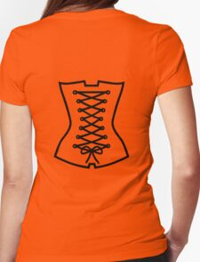 Corsage Womens Fitted T-Shirt