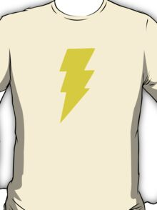 Yellow bolt. T-Shirt