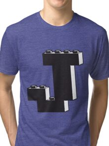 THE LETTER J  Tri-blend T-Shirt