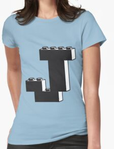 THE LETTER J  Womens Fitted T-Shirt