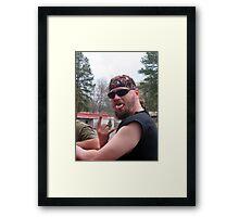 """""""Super Dave"""" Framed Print"""