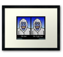 Know Your Yetis Framed Print