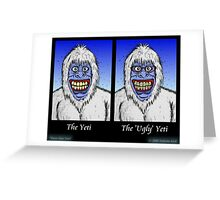 Know Your Yetis Greeting Card