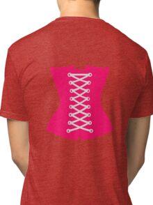 Pink Corsage Tri-blend T-Shirt