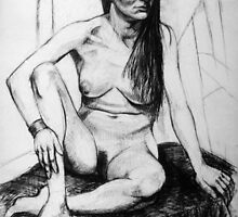 Life Drawing 1 by Steve Warburton