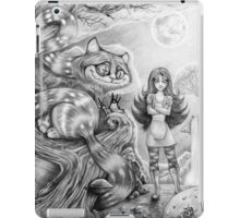 Alice and the Cheshire Cat iPad Case/Skin