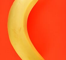 Yellow banana. by britishphotos