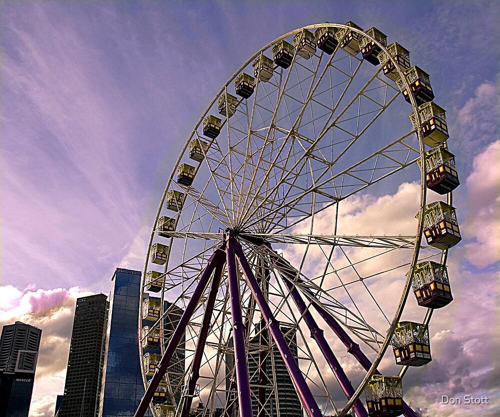 Skyscraper Wheel by Don Stott