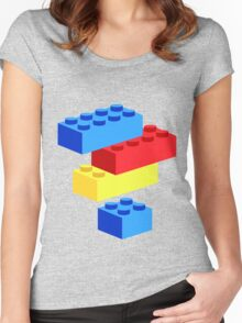 Bricks Women's Fitted Scoop T-Shirt