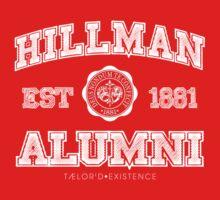 Hillman Alumni Kollection by TAELRDEXISTENCE