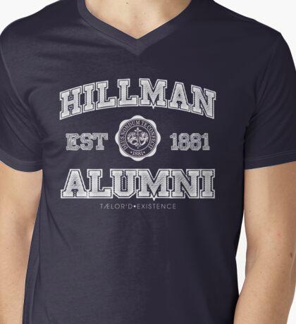 Hillman Alumni Kollection Mens V-Neck T-Shirt