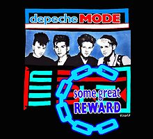 15% OFF Depeche Mode Some Great Reward 1984 Classic Design by shellshock8