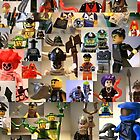 Custom Minifigure Collage  by Chillee