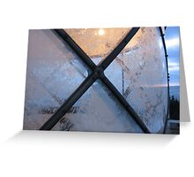 Frosted light Greeting Card
