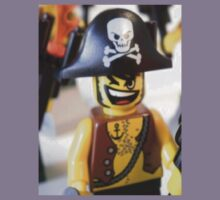 Pirate Captain Minifigure with Flame Kids Clothes
