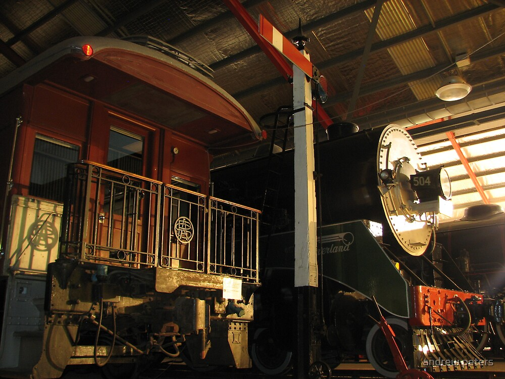 night shot of 504 at nrm by andrew peters