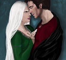 Queen Mab and Harry by Nana Leonti