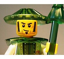 Ching Dynasty Chinese Warrior Custom Minifig Photographic Print
