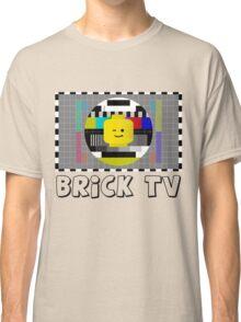 Brick TV Test Transmission  Classic T-Shirt
