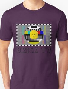 Brick TV Test Transmission  Unisex T-Shirt