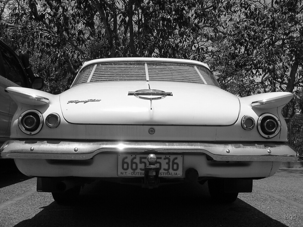 Old Car Black & White by elgd
