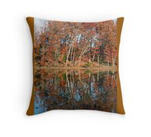 Autumn Narcissus Throw Pillow