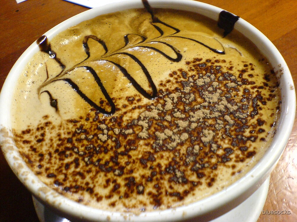 Latte art by bluesocks