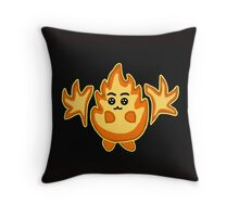 Fire Plushie Throw Pillow