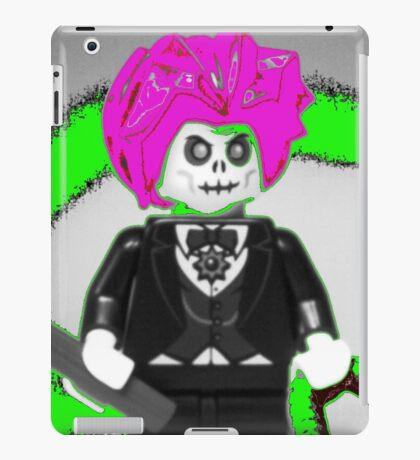 Evil Magician Custom Minifigure with Magic Wand & Snake iPad Case/Skin