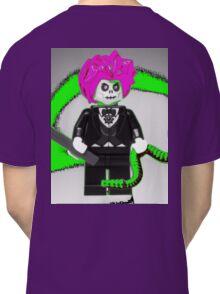 Evil Magician Custom Minifigure with Magic Wand & Snake Classic T-Shirt
